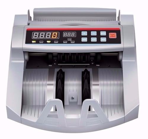contadora de billetes máquina cuenta dinero detector falsos
