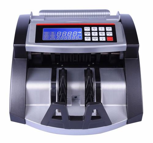 contadora de billetes máquina nuevo modelo detector falsos