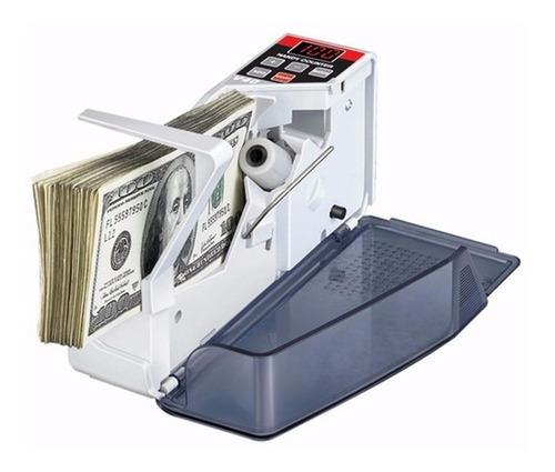 contadora de billetes v40 handy counter portatil inalambrica