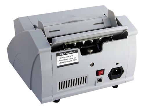 contadora detectora de billetes detecta falsos nueva sellada