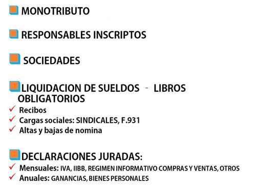 contadora publica (uba) matriculada