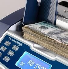 contadora y detector de billetes dolares ab5500 accubanker $