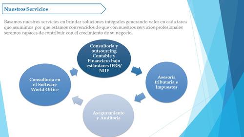 contadores públicos - consultores asesores