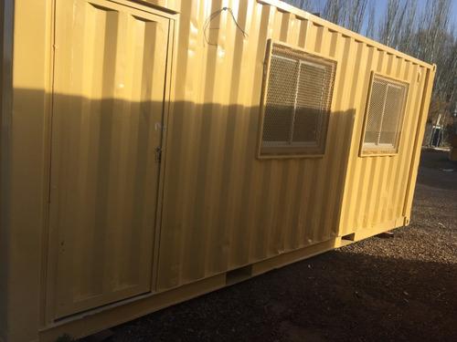 container 20pies   contenedor habitable   en mendoza