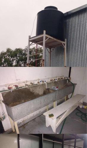 container casilla ecosan 10 duchas 4 banos envios al pais