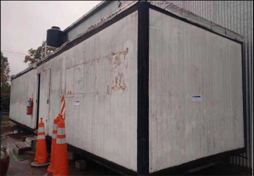 container casilla sanitario con 11 duchas envios al pais