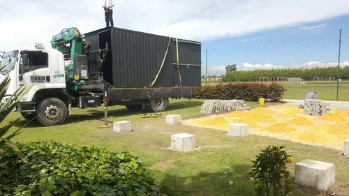 container contenedor 20 pies negocio