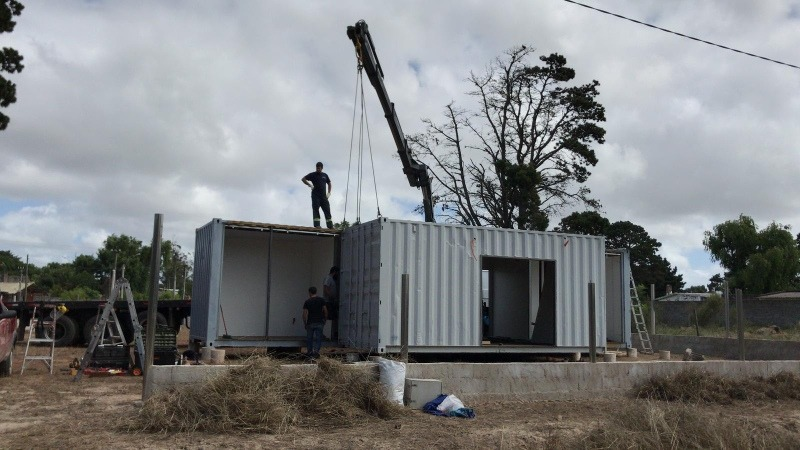 container .contenedores viviendas cabañas baños oficina