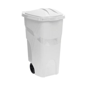 container de lixo plastico lixeira gigante extra grande 120l
