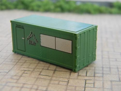 container escritório 20 pés db escala n 1:160(1:150) roco