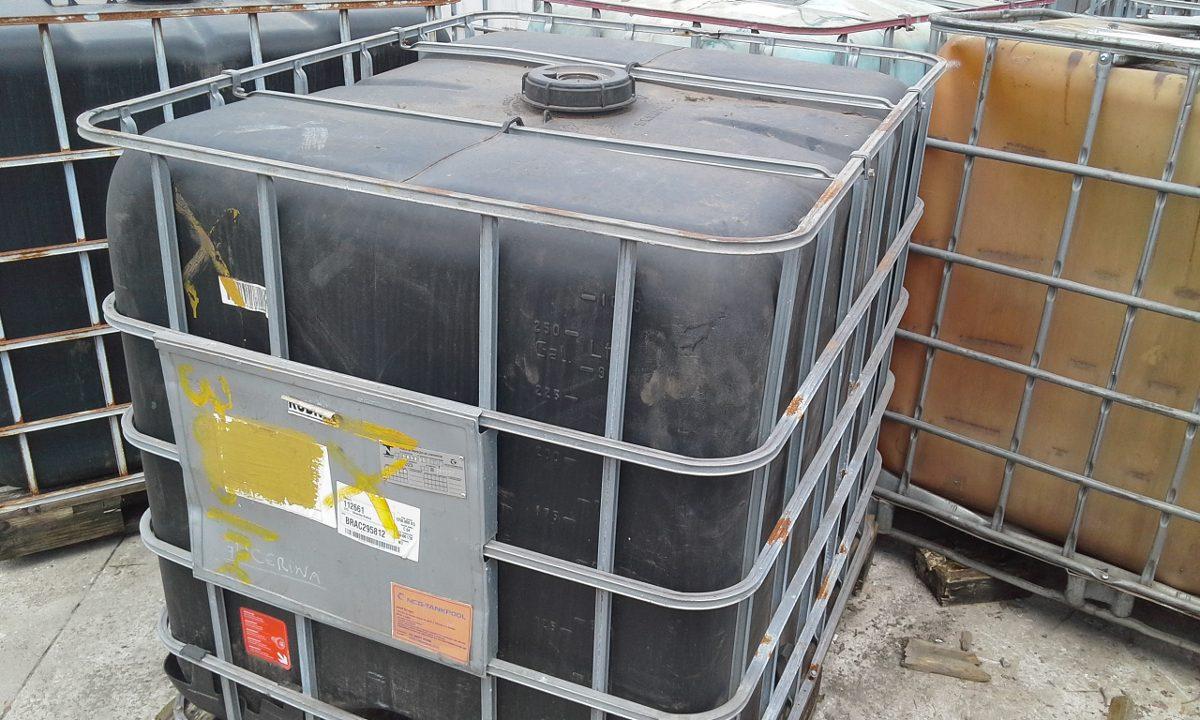 Container ibc 1000 litros preto r 270 00 em mercado livre Estanque ibc 1000 litros