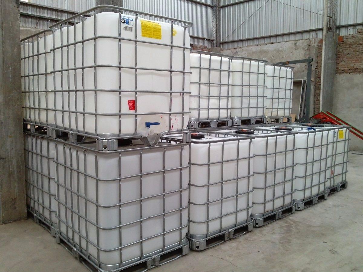 Container ibc 39 s 1000 lt usados diversas vezes lavados Estanque ibc 1000 litros