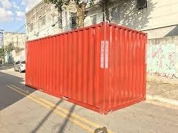 container maritimo 20 pés