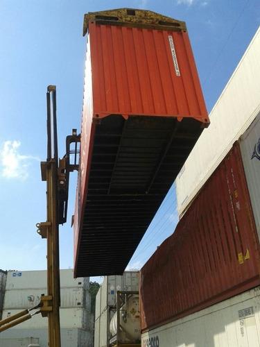 container maritimo 40 pés viacontainer