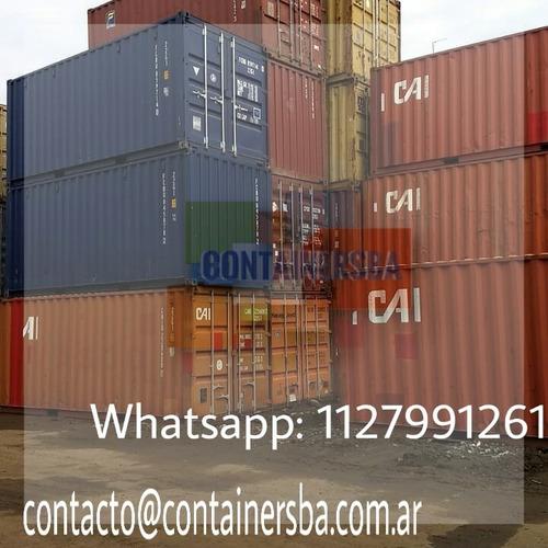 container maritimo contenedor  20/40 pies florencio varela