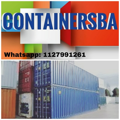 container maritimo contenedor 40/20 pies banfield