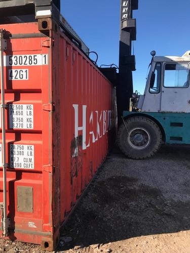 container maritimo contenedor usado 40 pies mar del plata