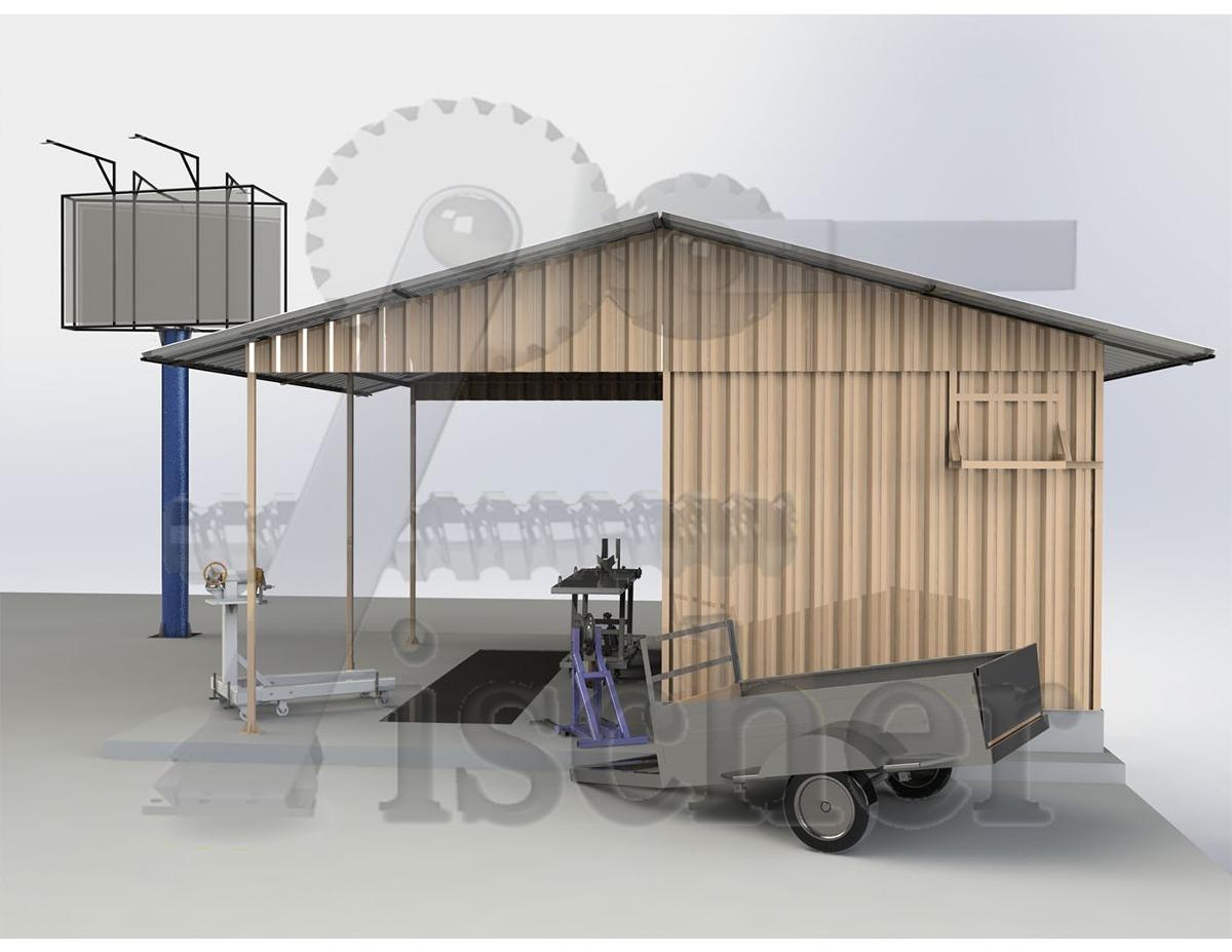 Container projeto oficina envio por e mail r 100 for Container oficina