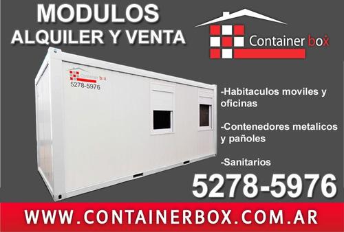 container,oficinas móviles,módulos habitacionales