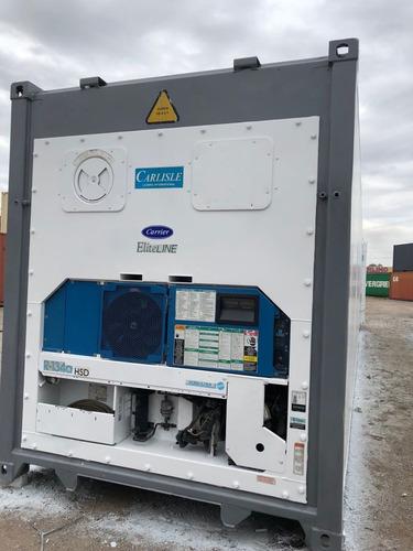 containers para carga refrigerada reefers carrier 20 pies hc