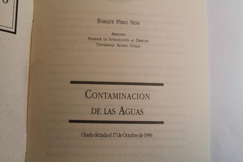 contaminacion de aguas colegio abogados de chile