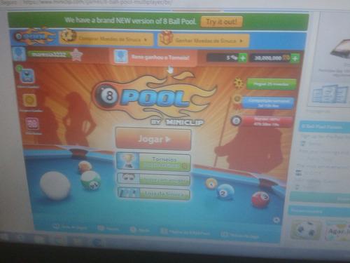contas 8 ball pool