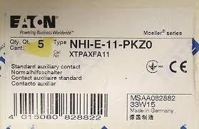 Contato Auxiliar Frontal N H I E11 Pkz0 Eaton Moeller