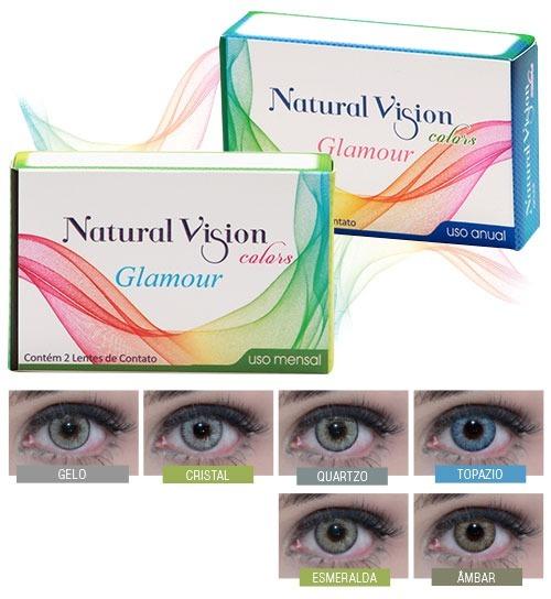 e56cea75c4edb contato color lente · lente de contato natural vision color quartzo mensal  glamour