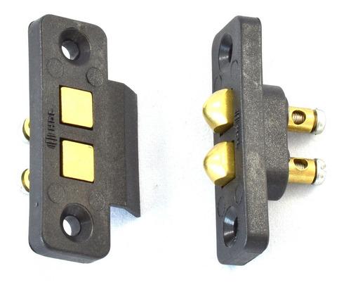 contato deslizante hdl fechadura elétrica universal original