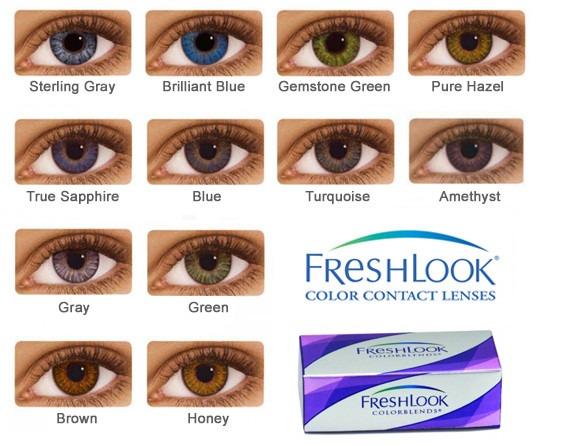 49b178dff52c9 contato grau lente · lente de contato - freshlook colorblends - sem grau