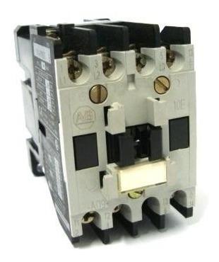 contator bobina 110/120v 50/60hz allen bradley 100-a09nd3 b