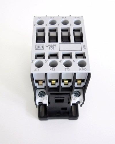 contator cwm9-11-30v26  bobina 220 v - weg