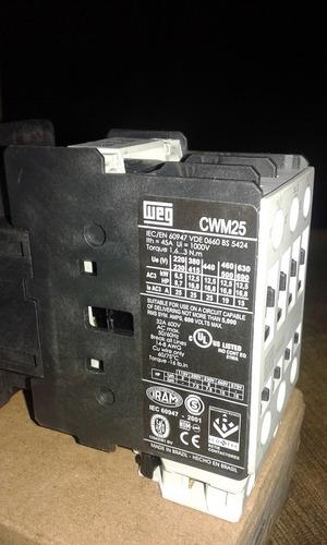contator weg cwm 25 220v