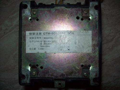 contatora magnética gtm-50a 65a 80a