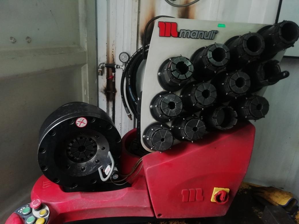 conteiner taller de mangueras y accesorios hidraulicos