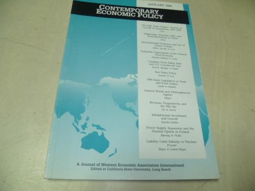 contemporary economic policy
