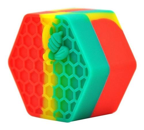 contenedor 26ml hermético silicón anti adherente wax oil has