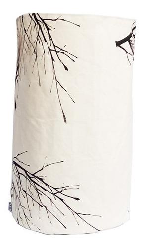 contenedor canasto tela rama large juguetero liquidación
