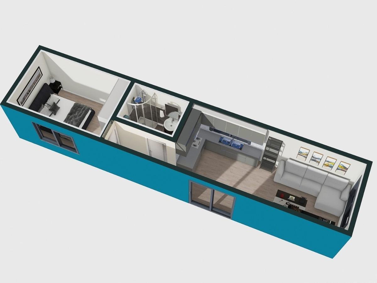 contenedor casa 40 pies de alta calidad