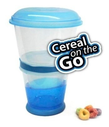 contenedor cereal on the go azul good and good