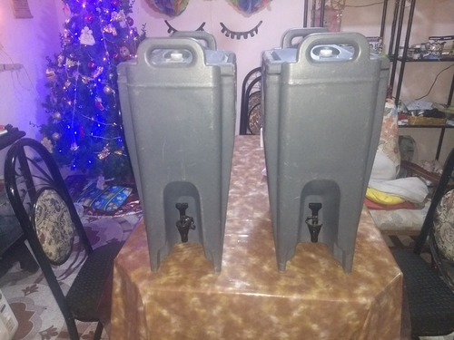 contenedor de agua fría y caliente marca cambro 20 litros