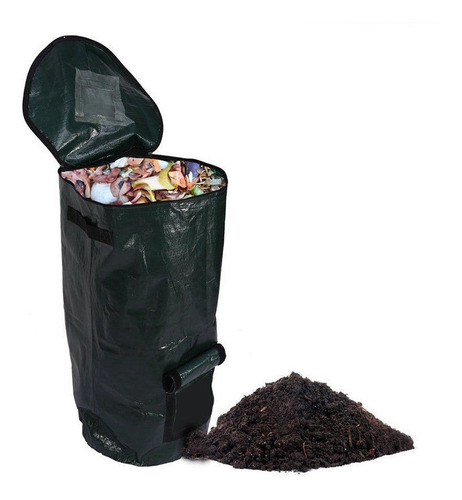 contenedor de compost alternativo y bolsas compostables,
