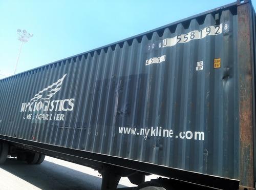 contenedor marítimo