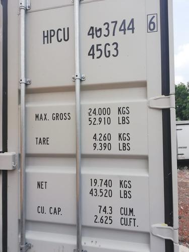 contenedor maritimo de 40 pies nuevo