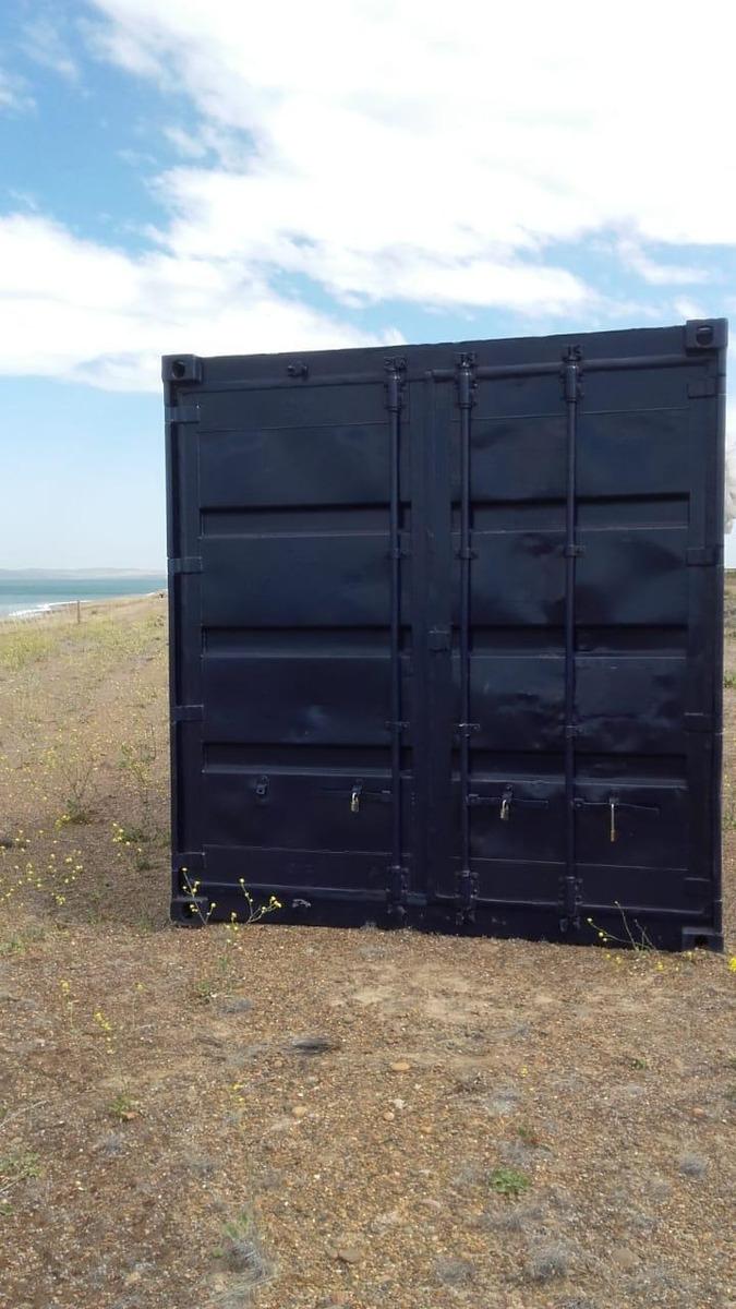contenedor maritimo pelado 6 metros (25