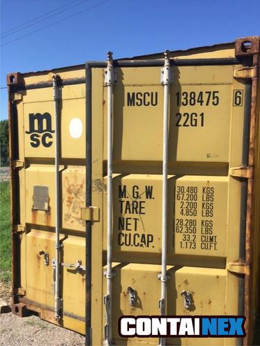 contenedor marítimo usado obrador catamarca