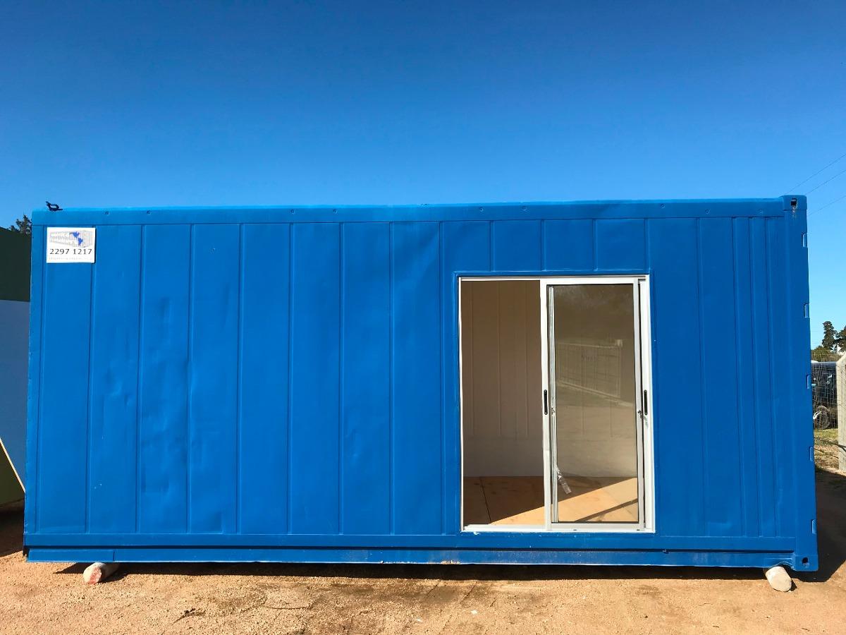 contenedor monoambiente 20 pies(15m2) - financio