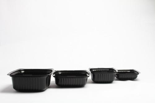 contenedor negro para delivery 750g (400 unidades)