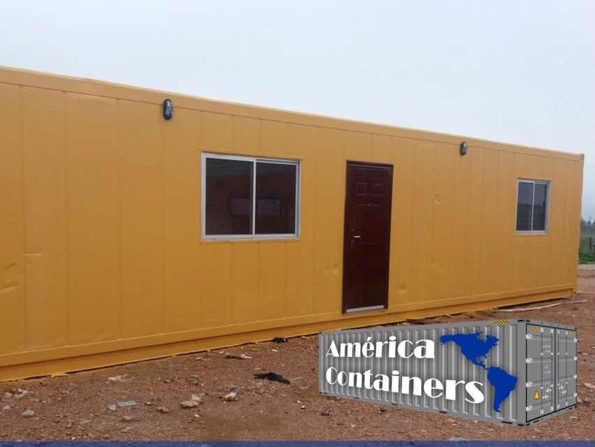 contenedor reefer 40 pies(30m2) -1 dormitorio, baño y cocina