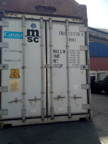 contenedor refrigerado 40 pies